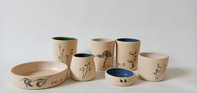 כלים קרמיים בעבודת יד