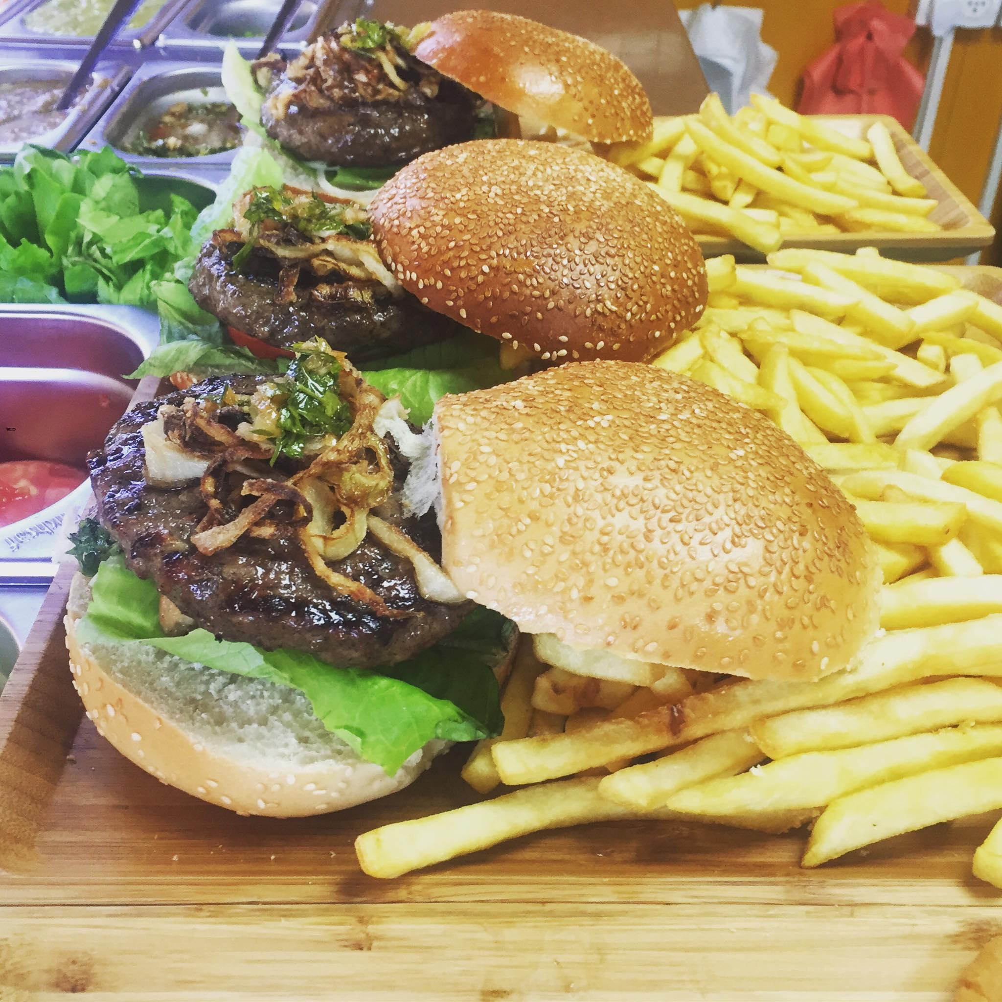 בר בשר והמבורגרים