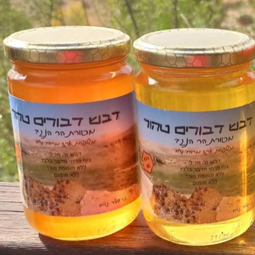 דבש אורגני מפרחי מדבר